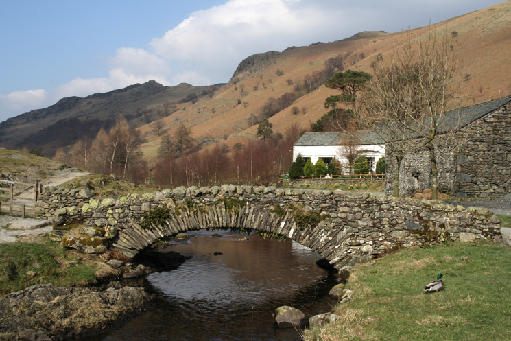 The packhorse bridge at Watendlath