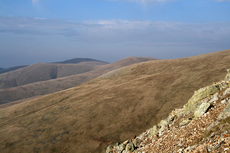 The Dodds from the Browncove Crags path