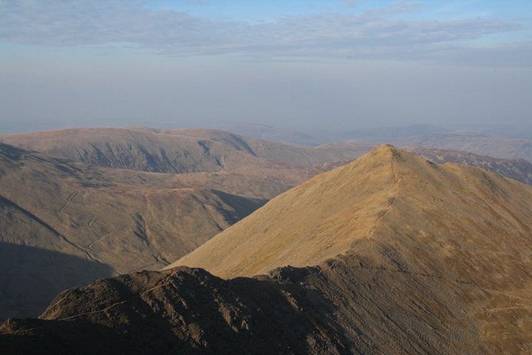 ...and from Helvellyn's summit