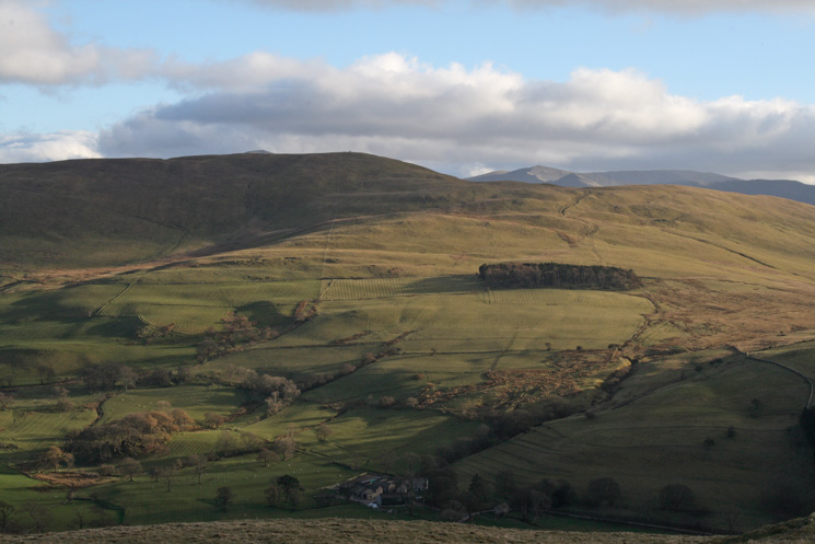 Looking across the Wythop valley to Broom Fell from Sale Fell