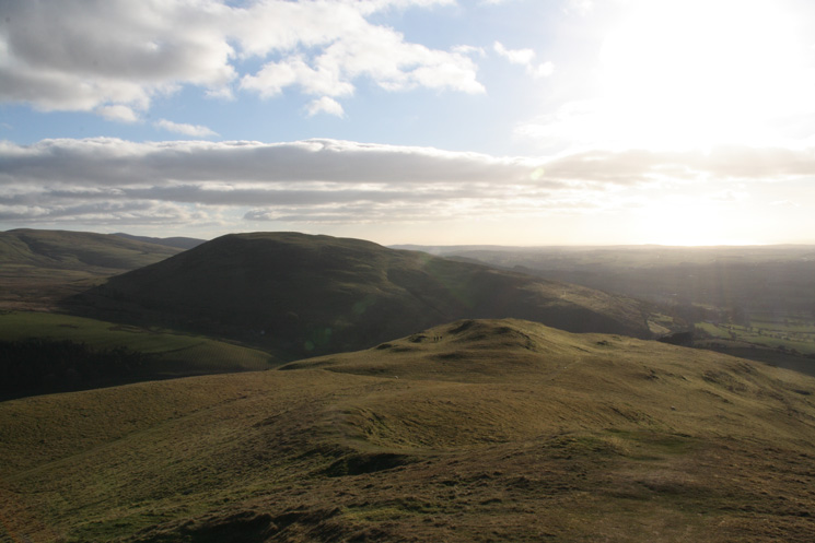 Looking across to Ling Fell