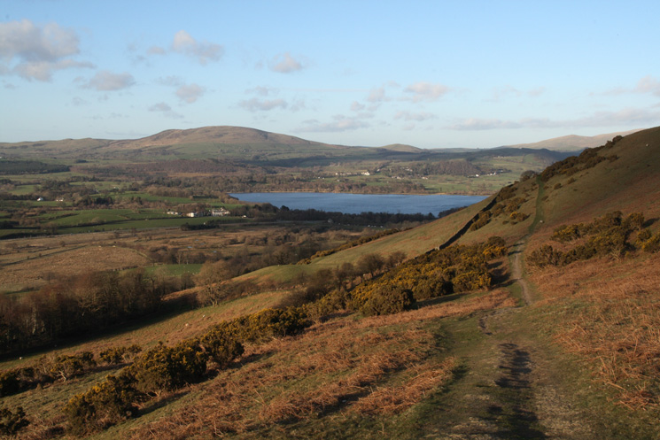 Binsey and Bassenthwaite Lake from above Wythop Church