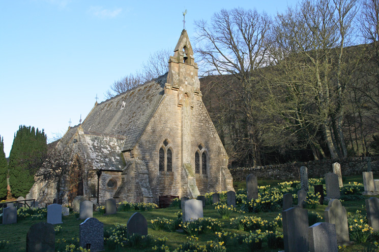 The church of St Margaret, Wythop