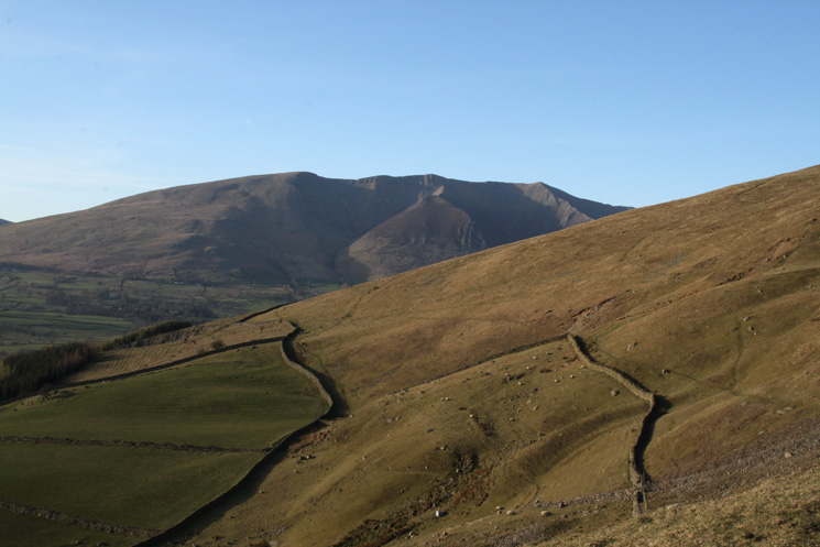 Looking north to Blencathra