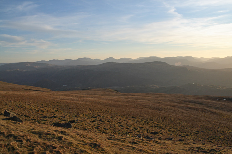 The view south west from Clough Head