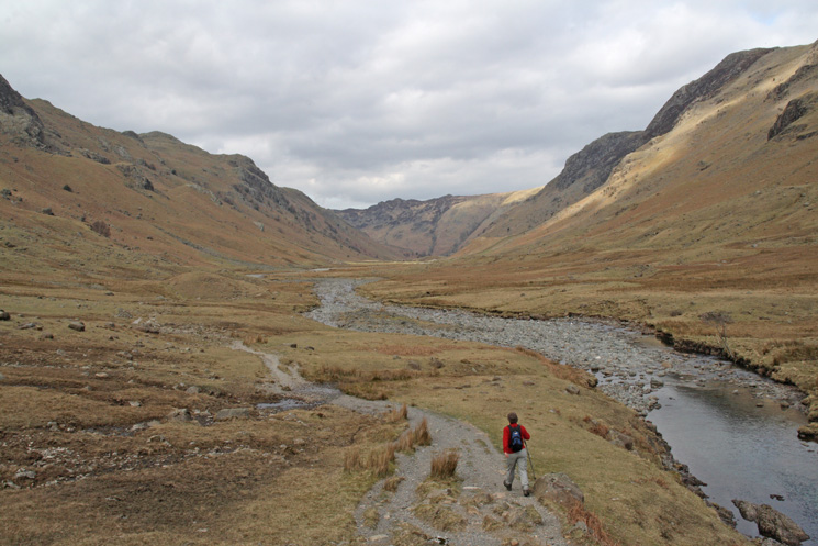 Heading down Langstrath