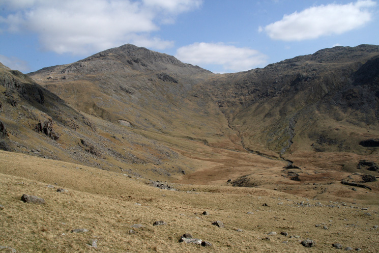 Green Hole and Bowfell