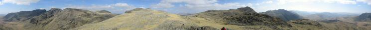 360 Panorama from Pike de Bield's summit