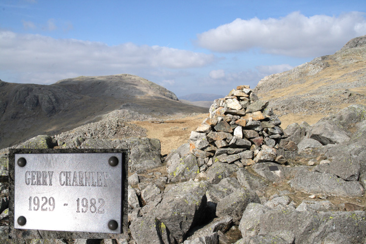 Looking towards Great End from the Gerry Charnley Cairn