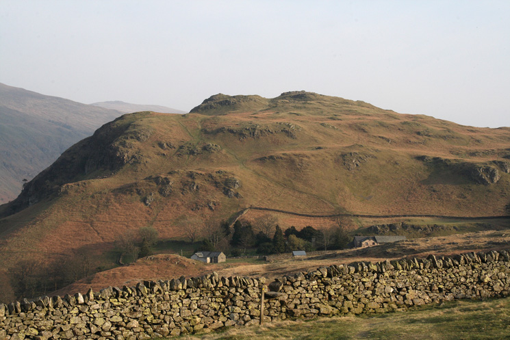 High Rigg from Low Rigg