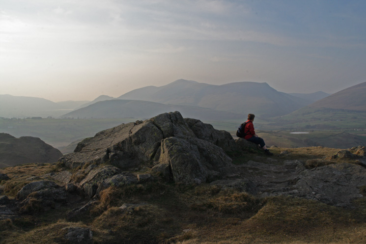 High Rigg's summit