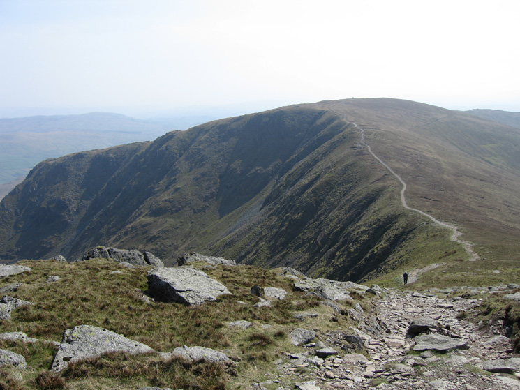 Looking back to Yoke from our ascent of Ill Bell