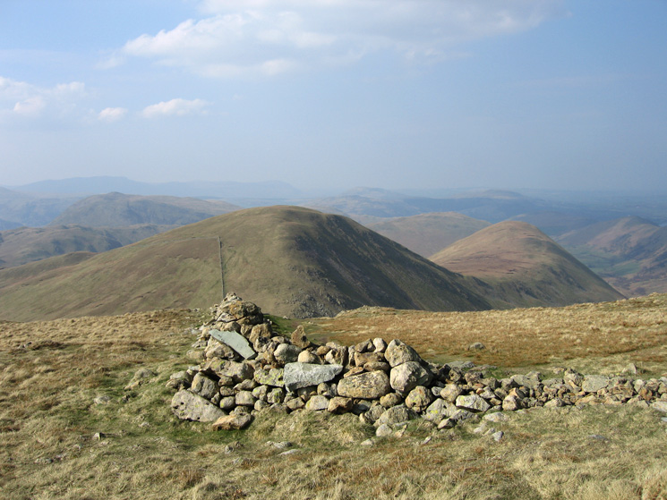 Rest Dodd and The Nab from The Knott's summit