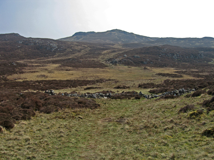 Looking ahead to High Seat's summit. Its very dry at the moment, this would normally be a big bog hopping exercise!