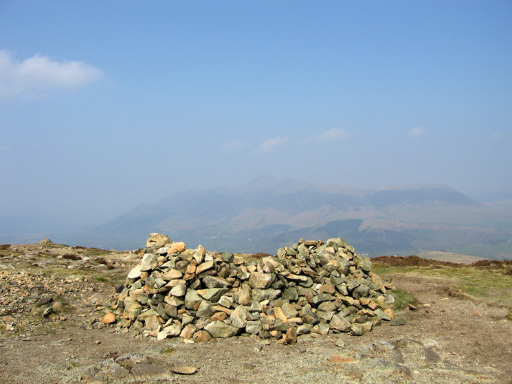 Skiddaw from Bleaberry Fell's summit