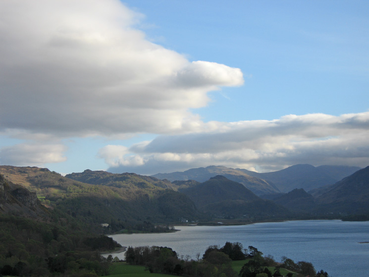 Looking up Borrowdale from Castle Head
