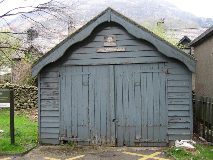 The Ranger Service Hut/Garage at Glenridding