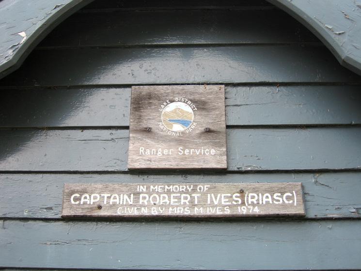 ...in memory of Captain Robert Ives (RIASC)