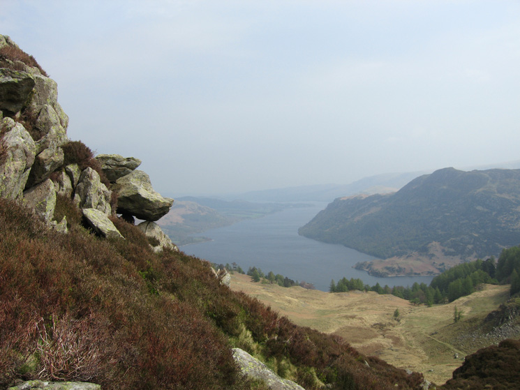 Ullswater from Sheffield Pike's south-east ridge