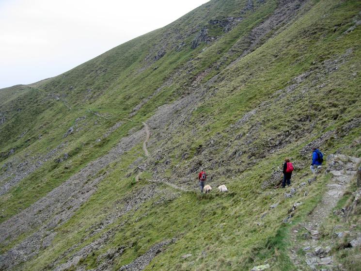 Heading along the path towards Nick Head