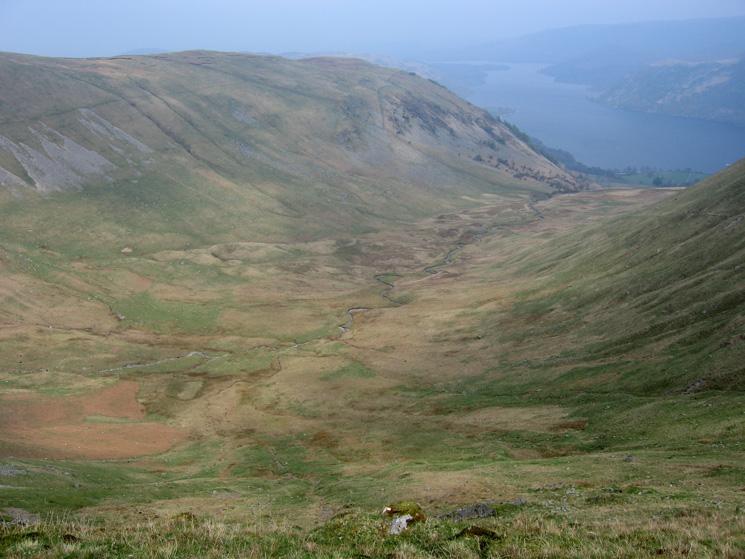 Glencoyne, a classic U shaped valley