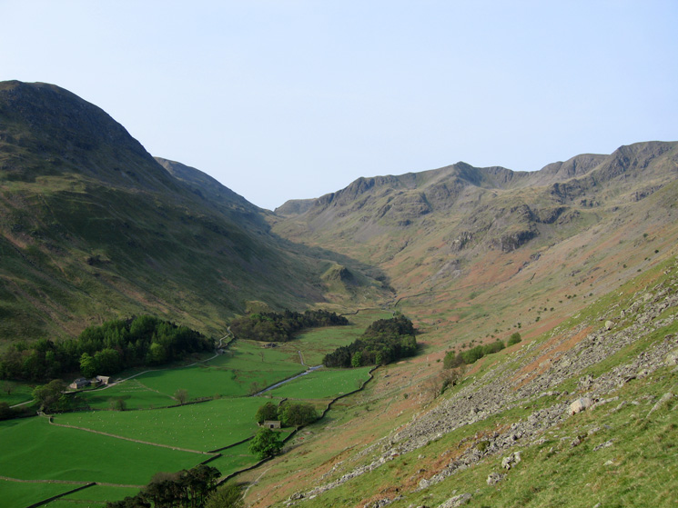 Grisedale from higher up on the path
