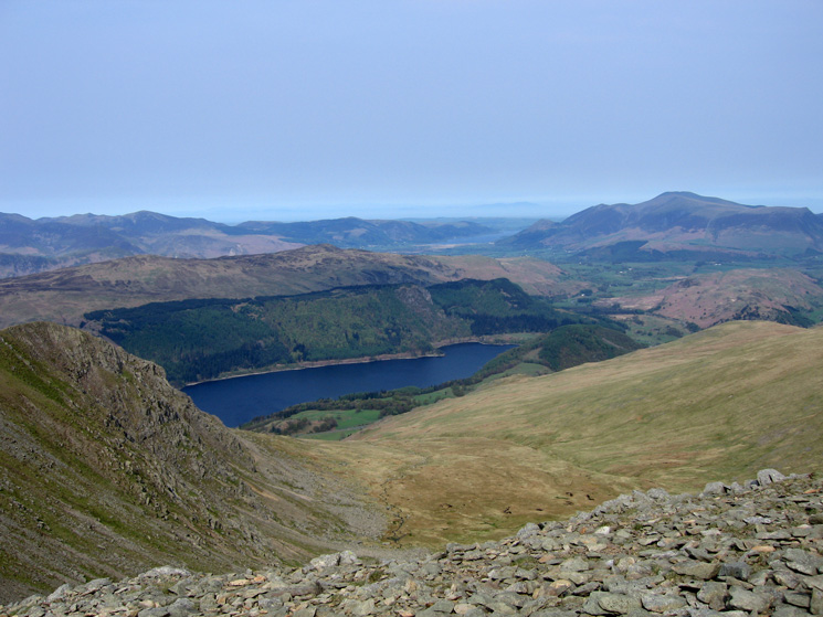 Thirlmere from Helvellyn Lower Man