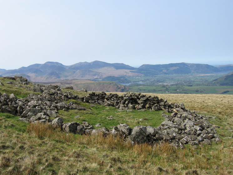 The north western fells from just below Calfhow Pike