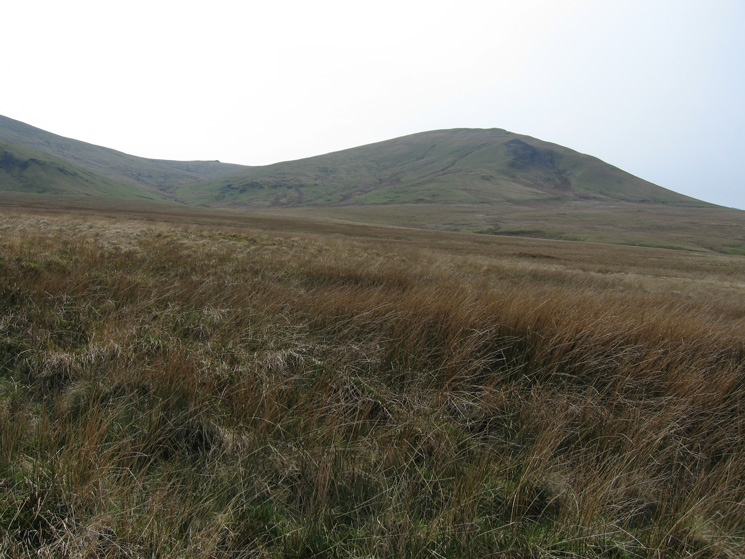 Looking back to Clough Head
