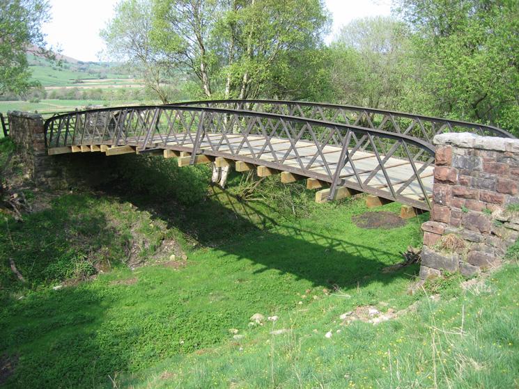 Bridge across the old Penrith to Keswick railway line near Highgate