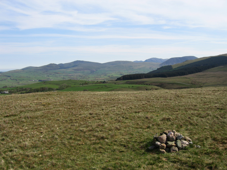The north western fells from Flat Fell's summit