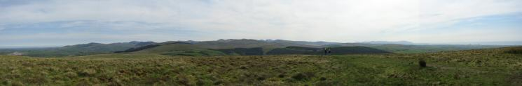 Easterly panorama from Dent's east top