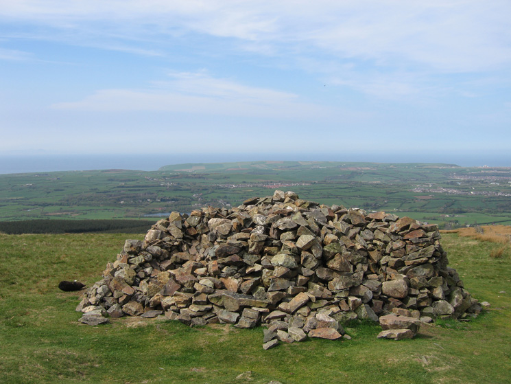 Dent's summit cairn