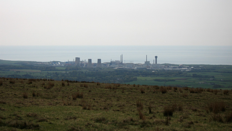 Sellafield from Cold Fell's summit