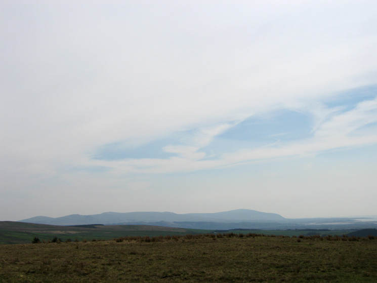 The view south to Black Combe from Cold Fell's summit