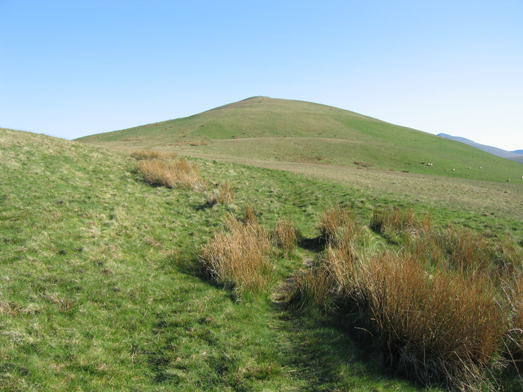 Longlands Fell's north ridge