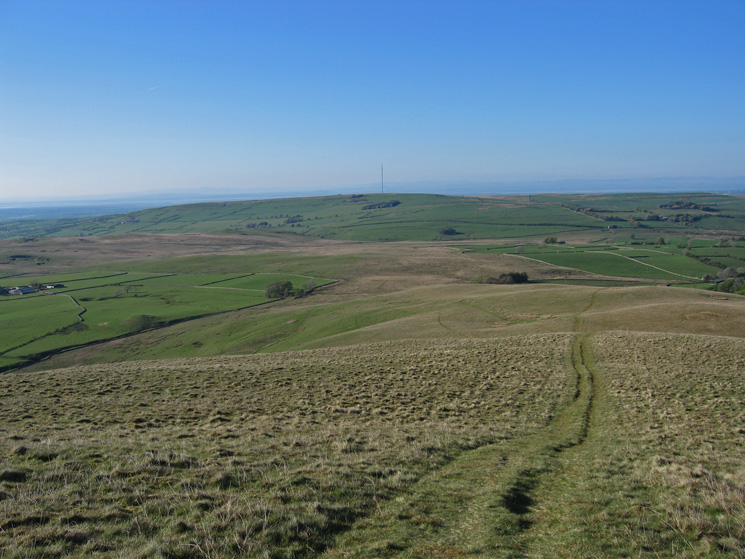 The view north from Longlands Fell to Aughertree Fell