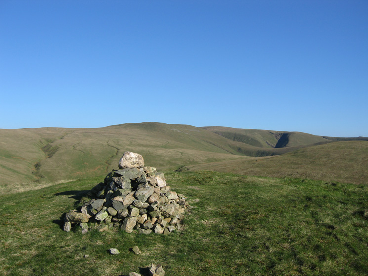 Little Sca Fell from Longlands Fell's summit