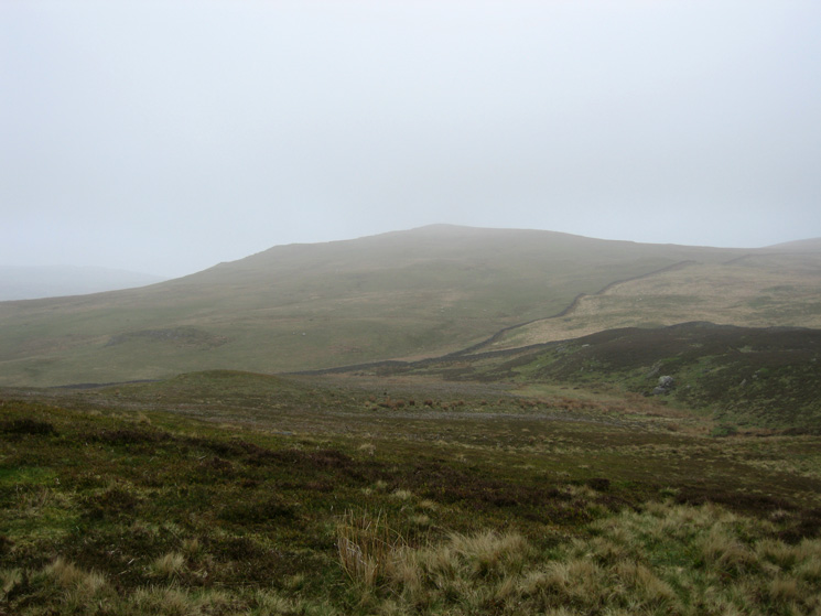 Looking across to Todd Fell from Whiteless Pike