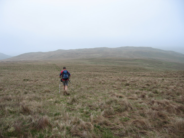 Heading for Long Crag