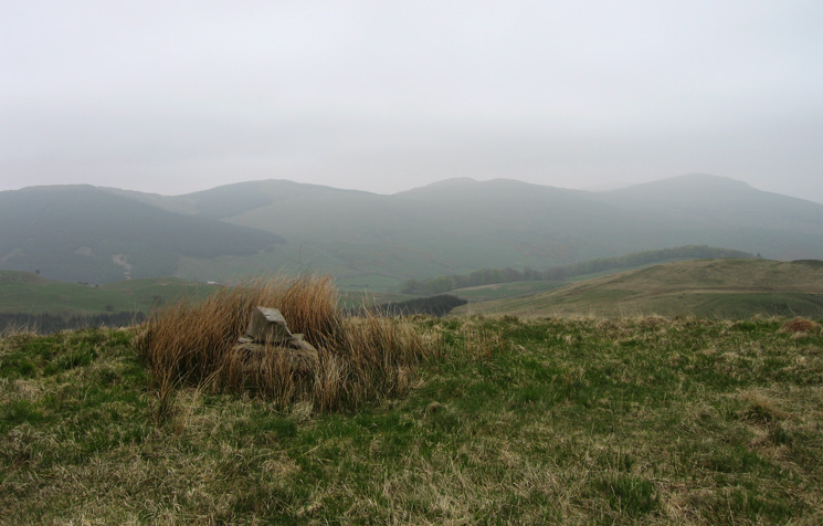 The Whinfell ridge from Lamb Pasture's summit