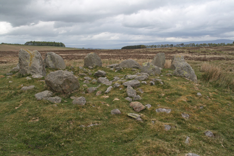 Cairn circle, Moor Divock