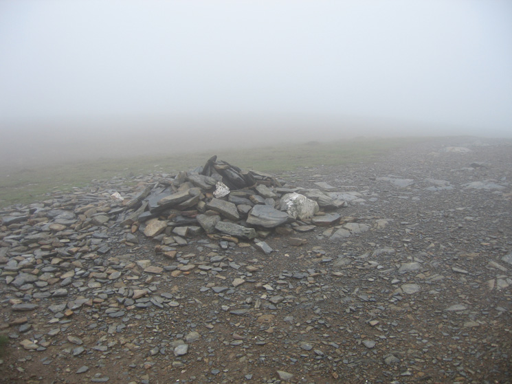 Carl Side's summit cairn