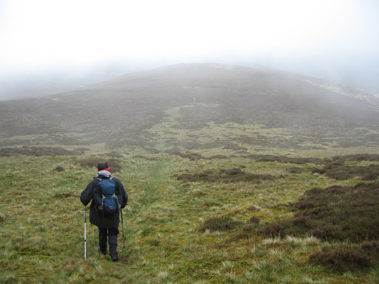 Descending to Hare Crag
