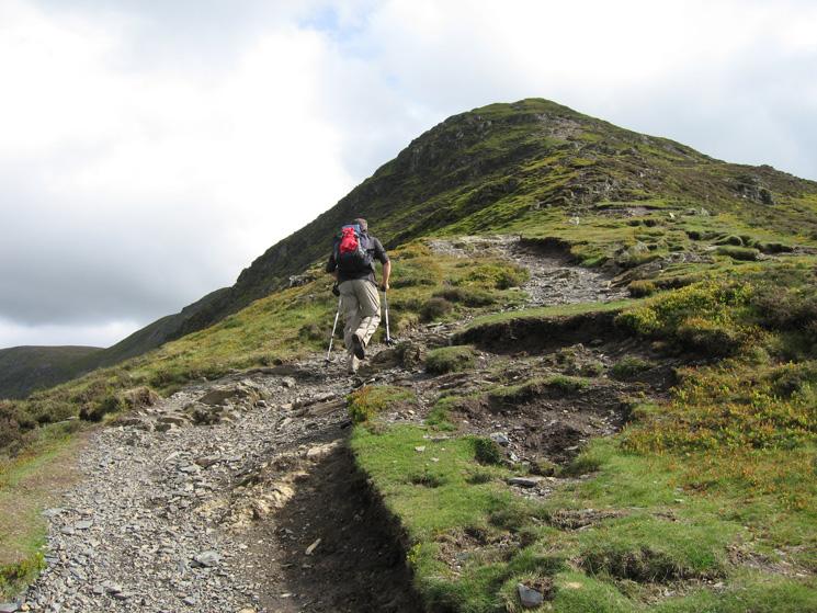 Ascending Ullock Pike