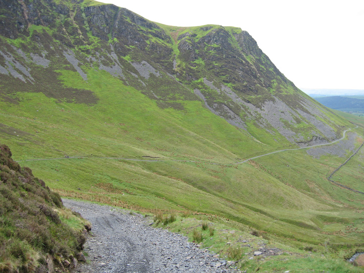 The Cumbria Way below Dead Crags