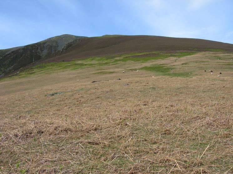 The way ahead, a long drag, a 'tedious climb' per AW