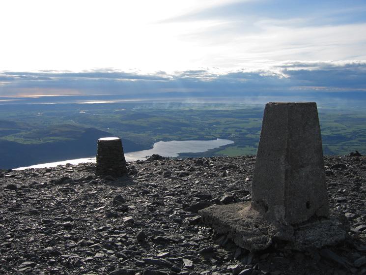 Skiddaw's summit