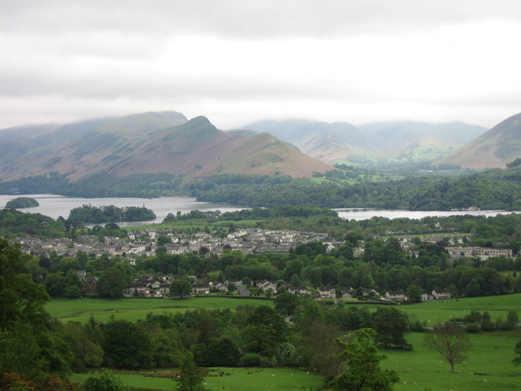 Keswick, Derwent Water and Catbells