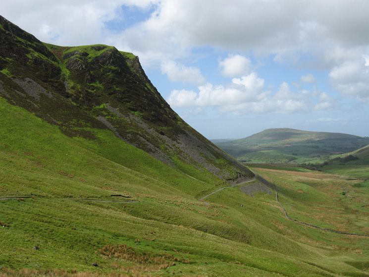 Dead Crags with Binsey in the distance